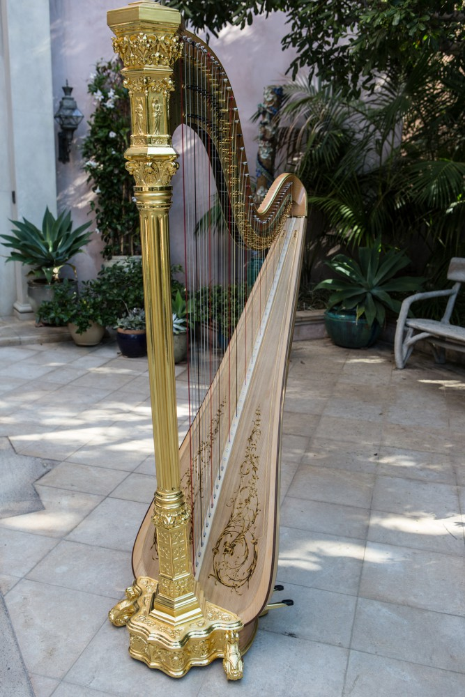 Harp Collection | Ted Nichelson | Los Angeles Harpist | Ted